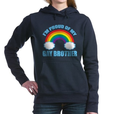 My Gay Brother Women's Hooded Sweatshirt