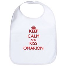 Keep Calm and Kiss Omarion Bib
