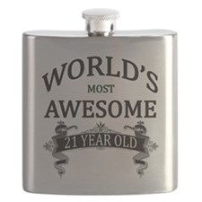 World's Most Awesome 21 Year Old Flask