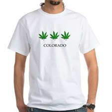 Colorado Pot Leaf Trio T-Shirt