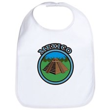 Mexico Pyramid Bib