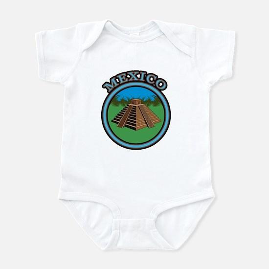 Mexico Pyramid Infant Bodysuit