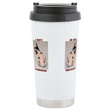 Cute Rat terrier christmas Travel Mug