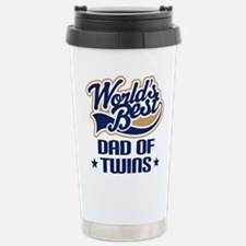 Funny Twins Stainless Steel Travel Mug