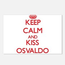 Keep Calm and Kiss Osvaldo Postcards (Package of 8