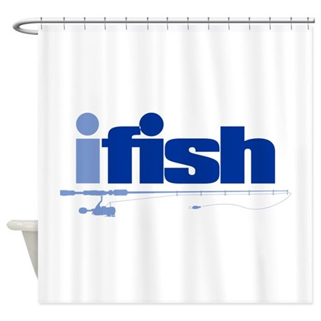 Ifish Rod Shower Curtain By Ultimateadventure