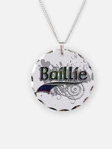 Baillie Tartan Grunge Necklace