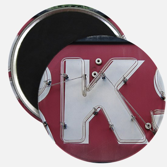 Letter K Magnet