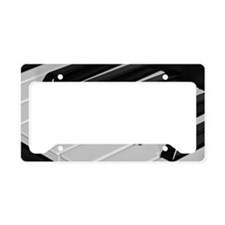 Piano keyboard (angle) License Plate Holder