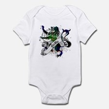 Baillie Tartan Lion Infant Bodysuit