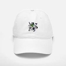 Baillie Tartan Lion Baseball Baseball Cap