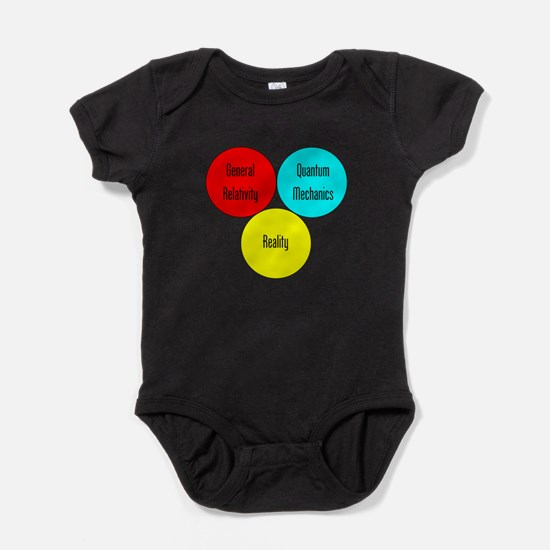 The Physics Of Reality Baby Bodysuit