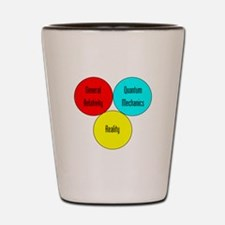 The Physics Of Reality Shot Glass