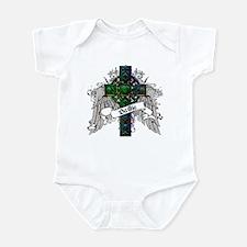 Baillie Tartan Cross Infant Bodysuit