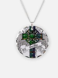Baillie Tartan Cross Necklace