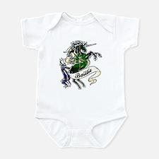 Baillie Tartan Unicorn Infant Bodysuit
