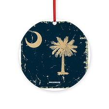 SC Vintage Ornament (Round)