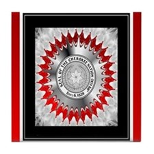 Cherokee Nation2.png Tile Coaster