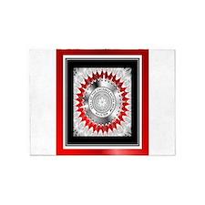 Cherokee Nation2.png 5'x7'Area Rug