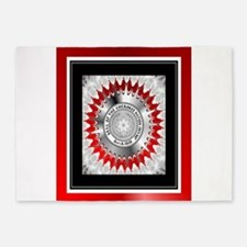 Cherokee Nation2.png 5'x7'Area Rug