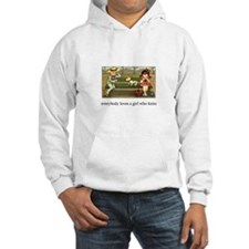Everybody Loves a Girl Who Kn Hoodie