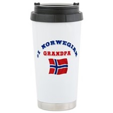 Cute Norwegian grandpa Travel Mug