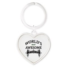 World's Most Awesome 50 Year Old Heart Keychain