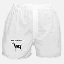 Custom Billie Goat Silhouette Boxer Shorts