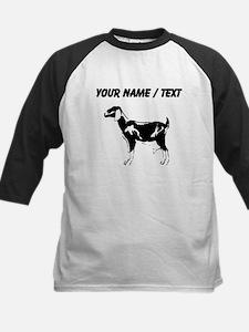 Custom Billie Goat Silhouette Baseball Jersey