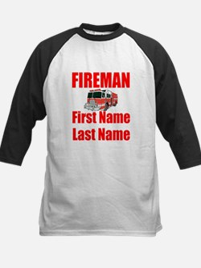 Fireman Baseball Jersey