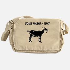 Custom Goat Silhouette Messenger Bag