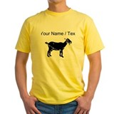 Goat Mens Yellow T-shirts