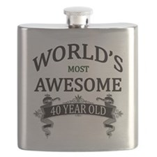 World's Most Awesome 40 Year Old Flask
