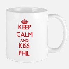 Keep Calm and Kiss Phil Mugs