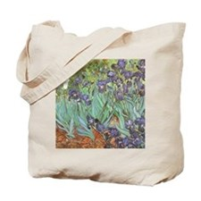 Irises-mousepad Tote Bag
