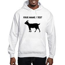 Custom Goat Silhouette Hoodie