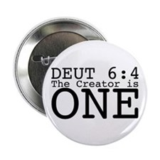 """He Is One! 2.25"""" Button"""