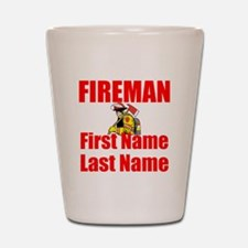 Fireman Shot Glass