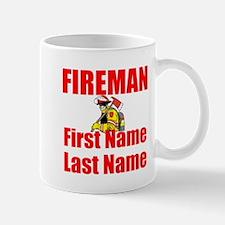 Fireman Mugs