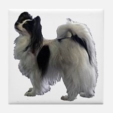 Cute Papillion Tile Coaster