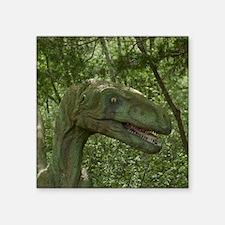 "Dinosaur 3736 Square Sticker 3"" x 3"""