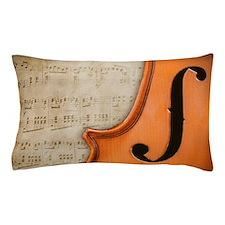 Antique Violin Pillow Case