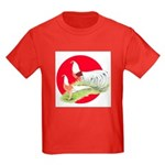 Japanese Yokohamas Kids Dark T-Shirt