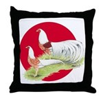 Japanese Yokohamas Throw Pillow