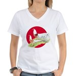 Japanese Yokohamas Women's V-Neck T-Shirt