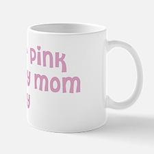 Wear pink for Christy Mug