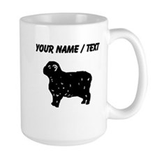 Custom Sheep Silhouette Mugs