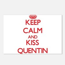 Keep Calm and Kiss Quentin Postcards (Package of 8