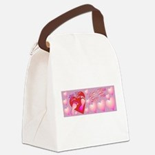 Little Miss Sexy Toes Canvas Lunch Bag