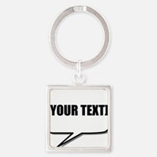 Word Bubble Personalize It! Keychains